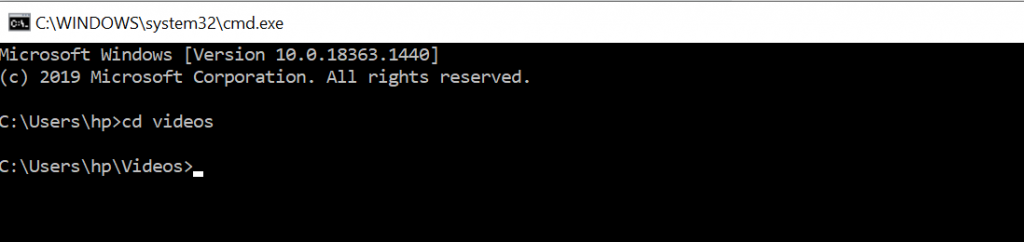 How to use FFmpeg with Command Prompt